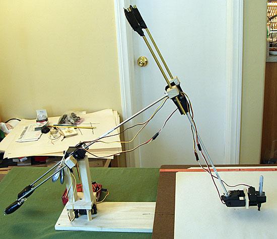 DrawBot USB Servos robot