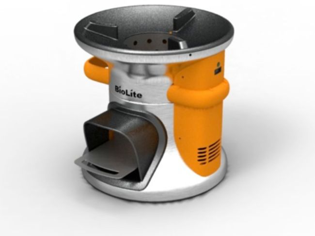 BioLite Campstove Keep You Warm While Charging Your Phone ...