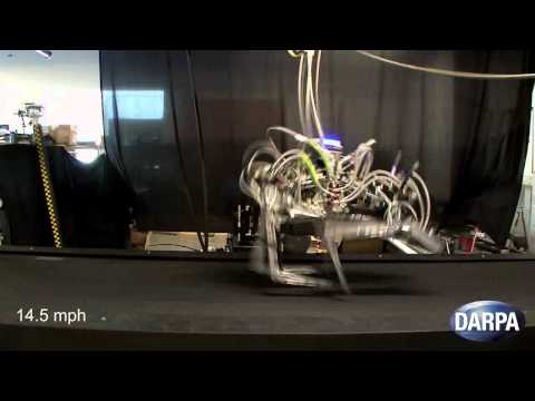 DARPA: Robot Cheetah Breaks Speed Record