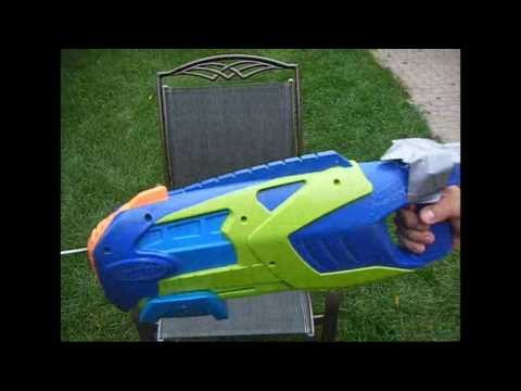 DIY Super Soaker Flame Thrower