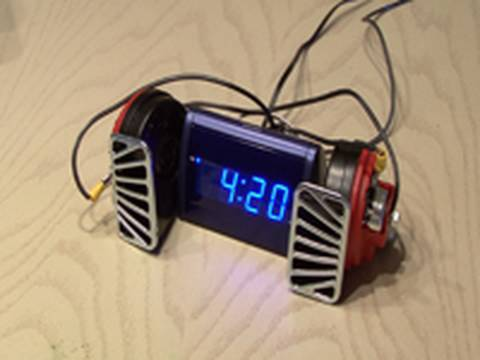 Super Charged Alarm Clock from Hell