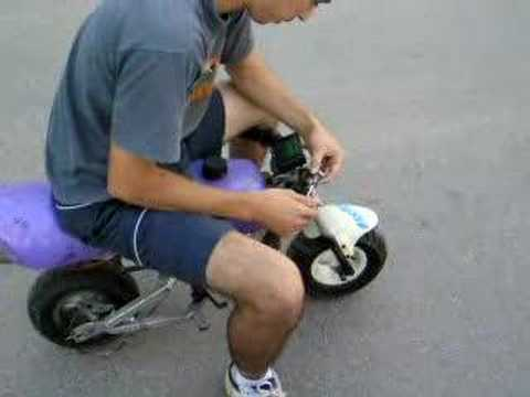 Turbine Powered Minibike