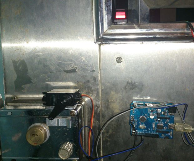 arduino fingerpring lock